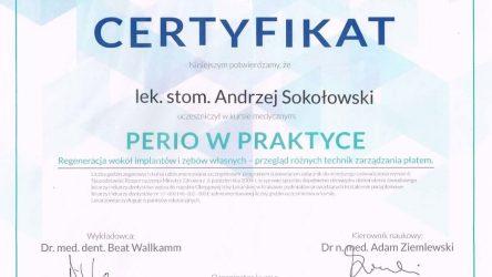 Andrzej Sokołowski Certyfikat (2)