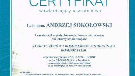 Andrzej Sokołowski Certyfikat (4)