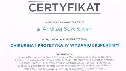 Andrzej Sokołowski Certyfikat (5)