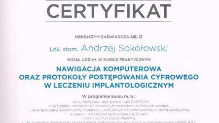 Andrzej Sokołowski Certyfikat (8)