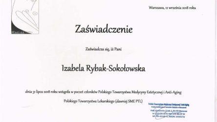 Izabela Rybak-Sokołowska certyfikat (14)