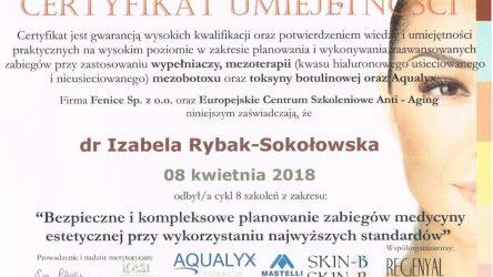 Izabela Rybak-Sokołowska certyfikat (20)