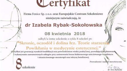 Izabela Rybak-Sokołowska certyfikat (21)