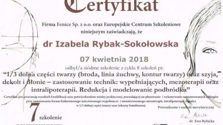Izabela Rybak-Sokołowska certyfikat (22)