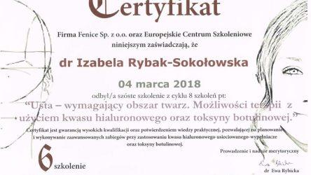 Izabela Rybak-Sokołowska certyfikat (25)