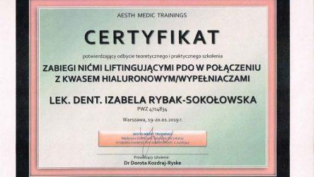Izabela Rybak-Sokołowska certyfikat (3)