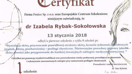Izabela Rybak-Sokołowska certyfikat (30)