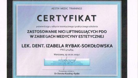 Izabela Rybak-Sokołowska certyfikat (4)