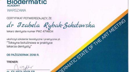 Izabela Rybak-Sokołowska certyfikat (8)