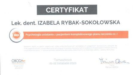 Izabela Rybak-Sokołowska - psychologia planu