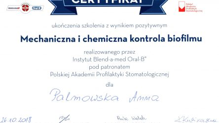 Anna Palmowska - cert (2)